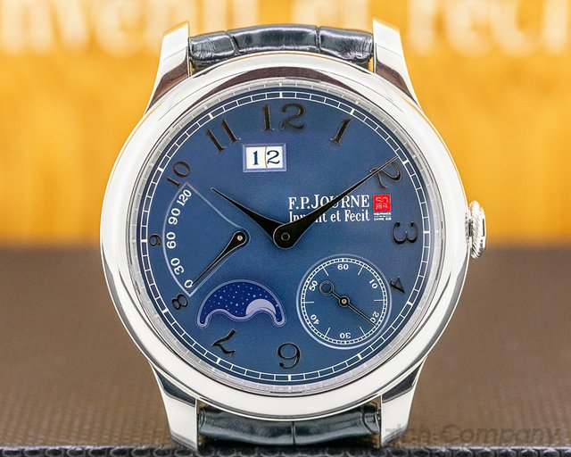 F. P. Journe Octa Lune France China  Octa Lune Automatic France China 50 Platinum RARE