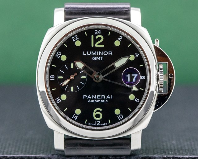 Panerai PAM00159 Luminor GMT SS 40MM