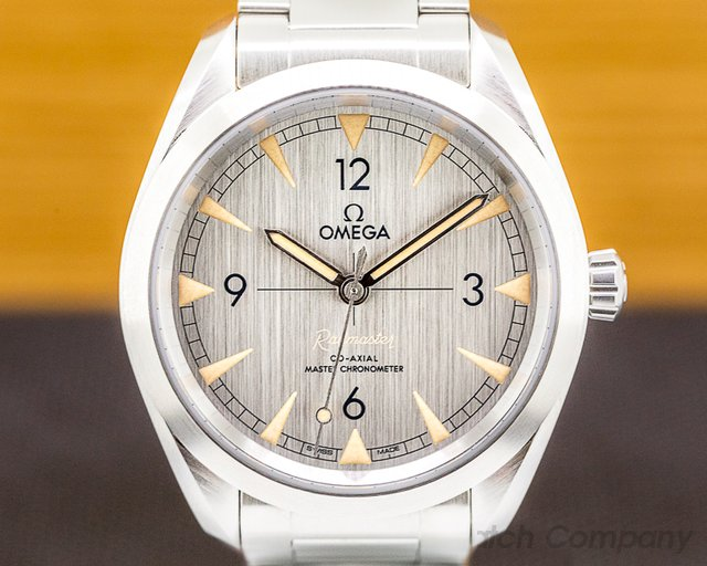 Omega 220.10.40.20.06.001 Railmaster Master Chronometer SS Co Axial Silver Dial