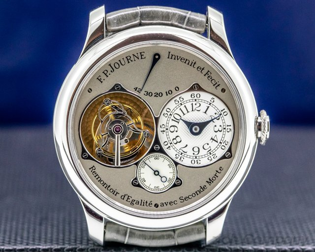 "F. P. Journe Tourbillon Souverain  Tourbillon Souverain Remontoir ""Dead Beat Seconds"" Platinum 40MM"