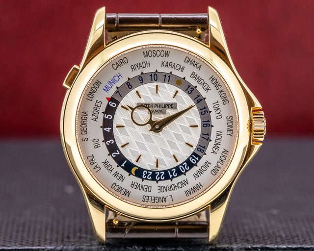 Patek Philippe 5130R-020 World Time 5130 18K Rose Gold MUNICH Limited Edition