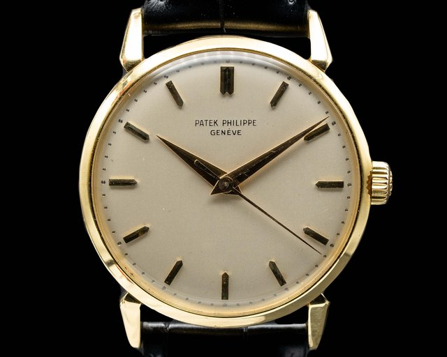 Patek Philippe 1578 Calatrava 18K Yellow Gold Manual Wind 35MM