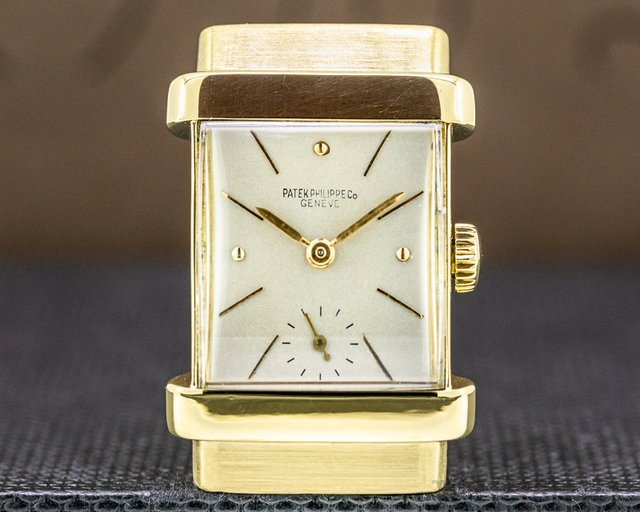 Patek Philippe 1450 Top Hat 18K Yellow Gold