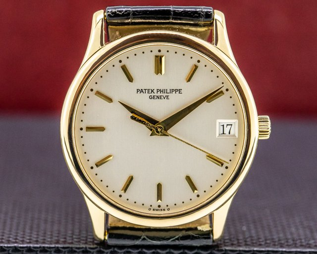 Patek Philippe 3998R Calatrava Automatic 18K Rose Gold