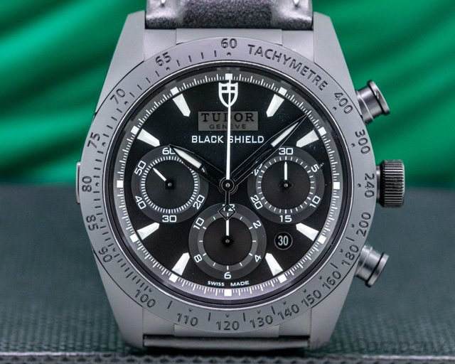 "Tudor 42000CN-0017 Fastrider ""Black Shield"" Chronograph Ceramic"