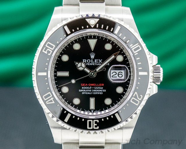 Rolex 126600 Sea Dweller 126600 RED 43mm SS 2019
