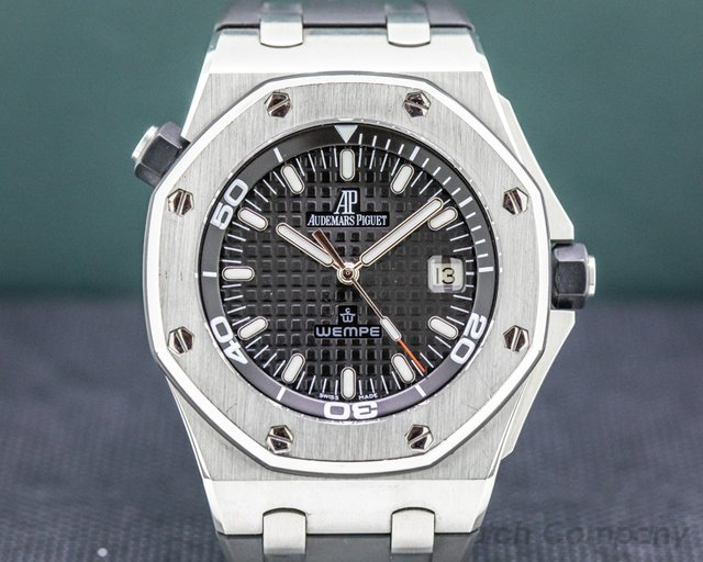 Audemars Piguet 15340ST.OO.D002CA.01 Royal Oak Offshore Diver Wempe Limited Edition