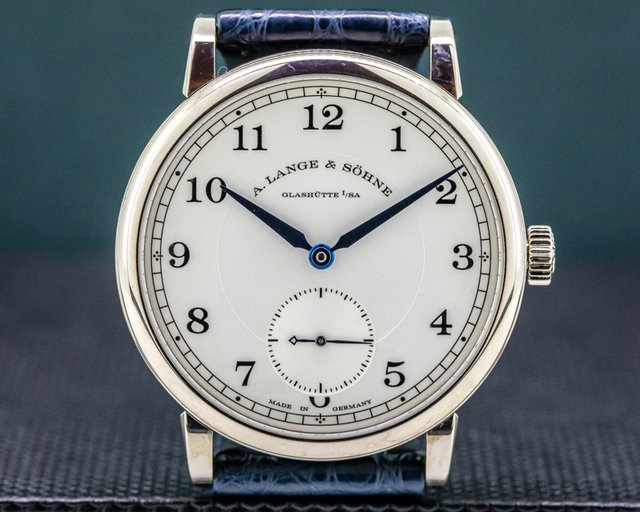 A. Lange and Sohne 235.026 1815 18K White Gold Silver Dial 38.5MM