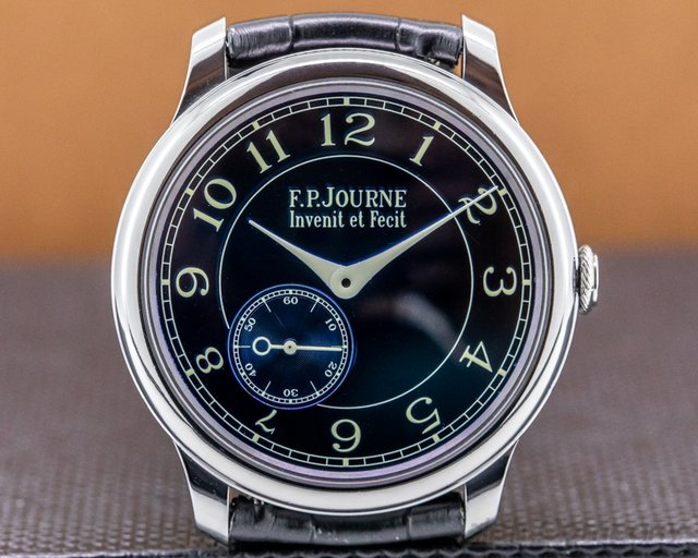 F. P. Journe Chronometre Blue Chronometre Bleu Tantalum Blue Dial