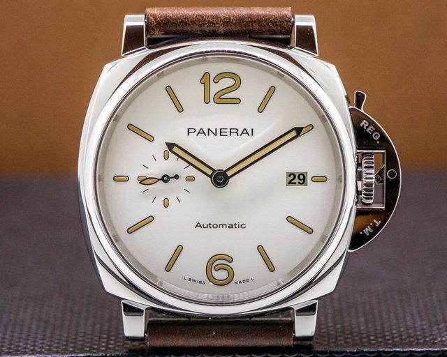 Panerai PAM1046 Luminor Due SS Ivory Dial