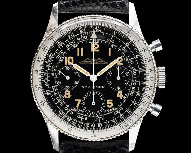 "Breitling 806 Vintage ""ALL BLACK"" AOPA Navitimer 806 1961 AMAZING CONDITION"