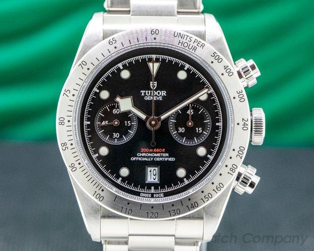 Tudor 79350 Tudor Heritage Black Bay Chronograph