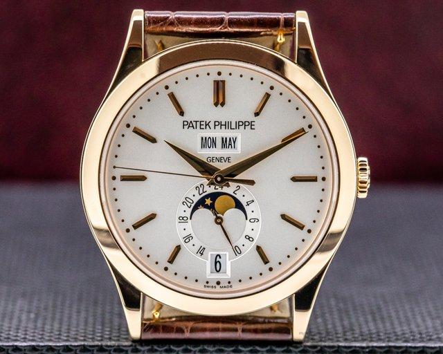 Patek Philippe 5396R-011 Annual Calendar 5396 Rose Gold / Silver Dial