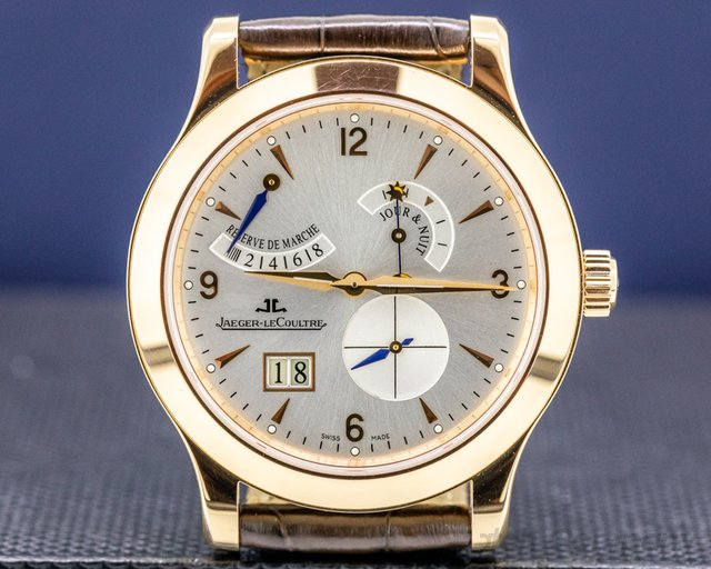 Jaeger LeCoultre Q1602420 Master 8 Days 18k Rose Gold