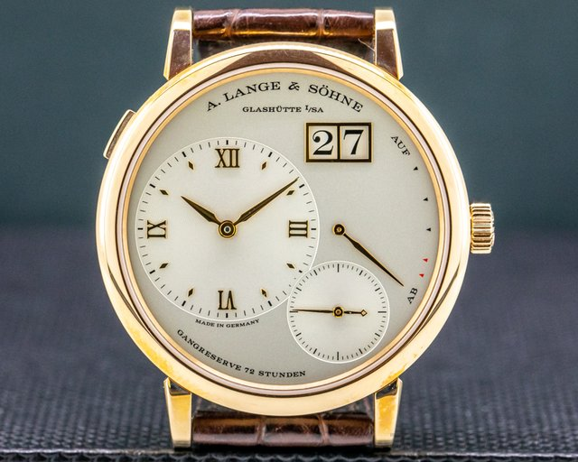 A. Lange and Sohne 117.032 Grande Lange 1 117.032 18K Rose Gold