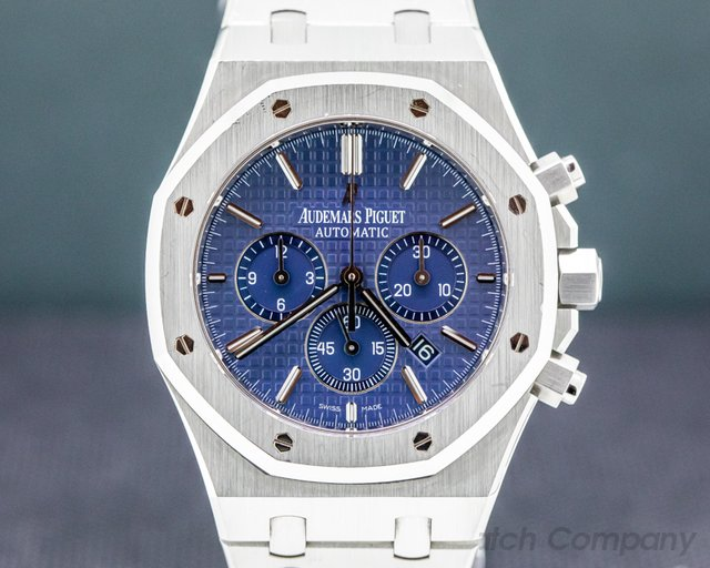 "Audemars Piguet 26320ST.OO.1220ST.03 Royal Oak Chronograph BLUE DIAL ""BOUTIQUE"" SS 41MM"