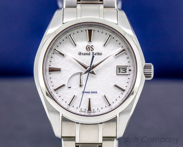 "Grand Seiko SBGA211 Heritage Collection Spring Drive ""Snowflake"" Titanium"