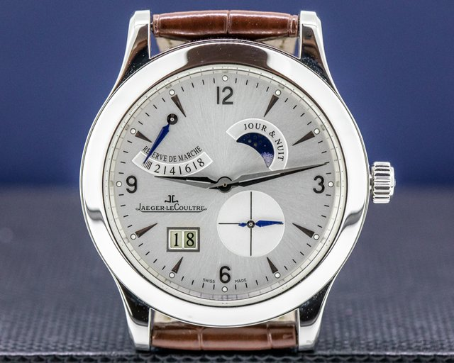 Jaeger LeCoultre Q1608420 Master 8 Days Steel