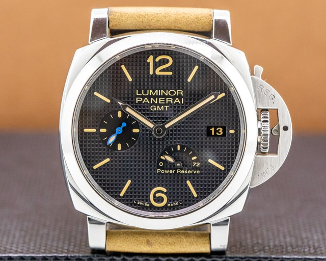 Panerai PAM01537 Luminor 1950 3 Day GMT Power Reserve 42MM