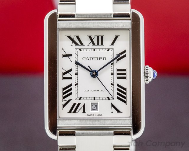 Cartier W5200028 Tank Solo XL Automatic SS