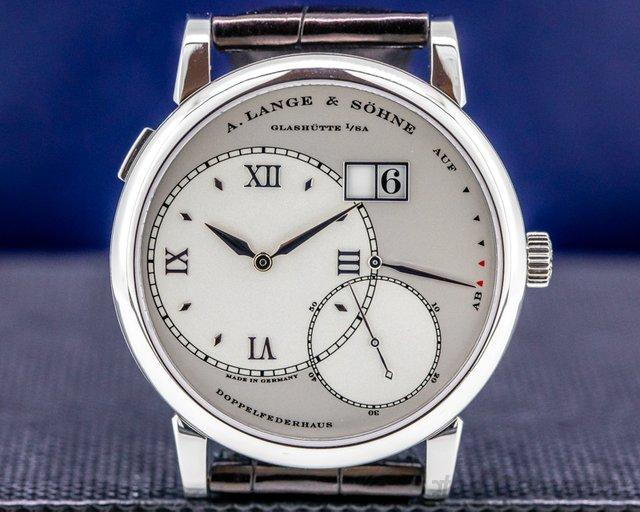 A. Lange and Sohne 115.025 Grand Lange 1 115.025 Platinum 41MM