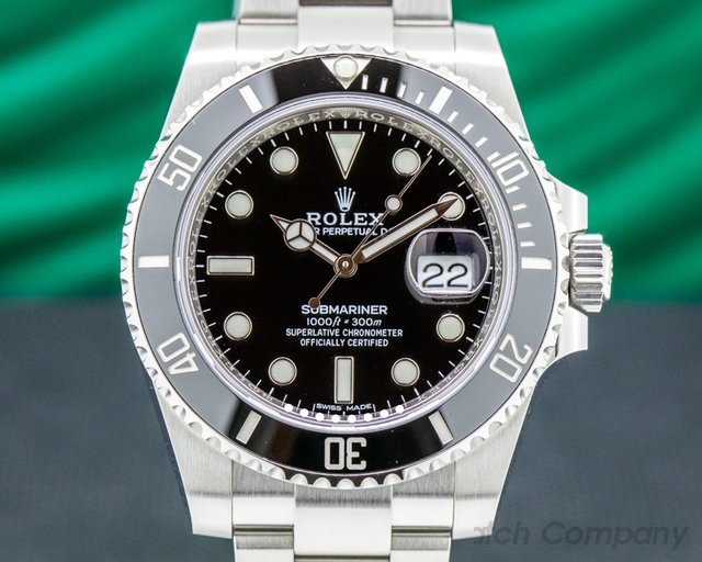 Rolex 116610LN Submariner 116610 LN Ceramic SS 2019