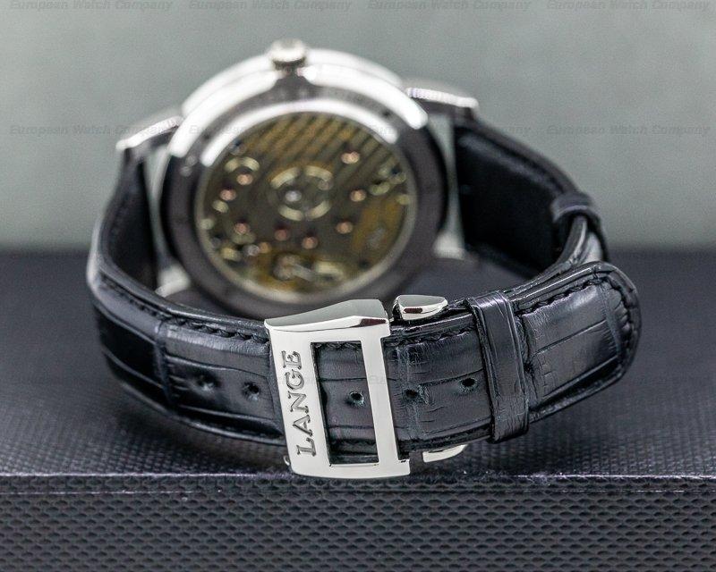 A. Lange and Sohne 115.025 Grand Lange 1 115.025 Platinum / Deployant
