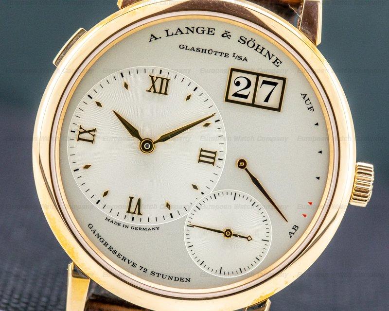 A. Lange and Sohne 117.032 Grande Lange 1 117.032 18K Rose Gold