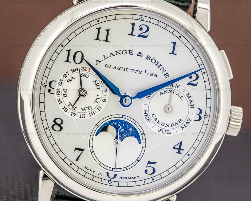 A. Lange and Sohne 238.026 1815 Annual Calendar 18k White Gold