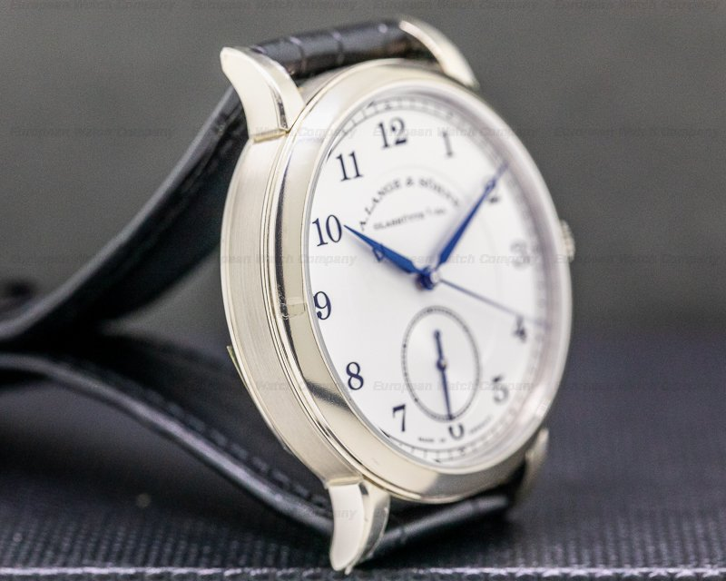 "A. Lange and Sohne 297.026 1815 Homage to Walter Lange ""Jumping Seconds"" Limited 18K WG"