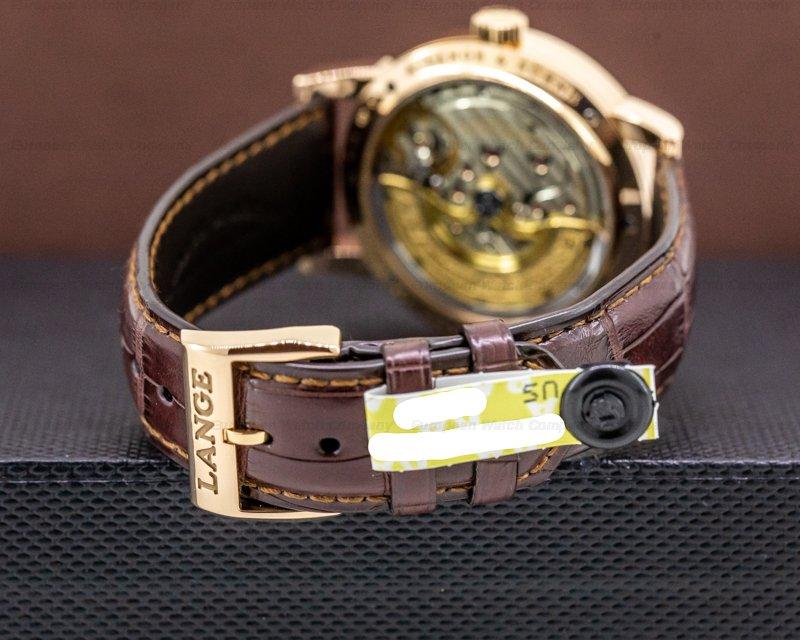 A. Lange and Sohne 320.032 Lange 1 Daymatic 18K Rose Gold