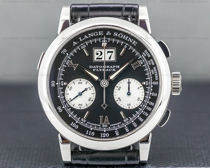 A. Lange and Sohne 403.035 Datograph 403.035 Flyback Platinum