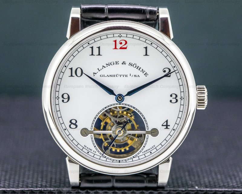 A. Lange and Sohne 730.079F 1815 Tourbillon 730.079 Enamel Dial Platinum LIMITED