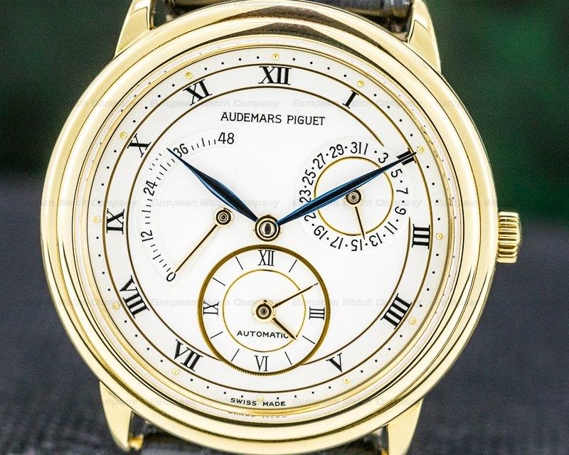 Audemars Piguet 25685BA.0.0002 Dual Time 18K Yellow Gold