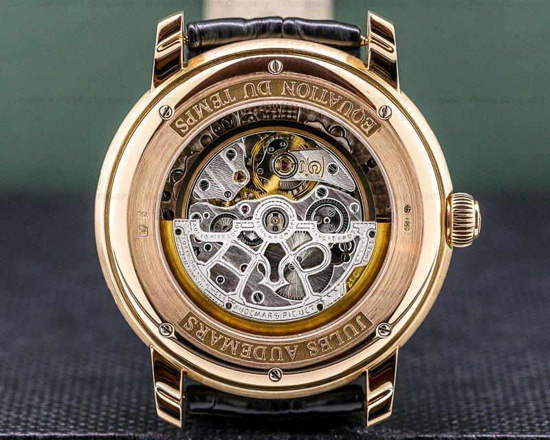 """Audemars Piguet 26003OR.OO.D088CR.01 Jules Audemars Equation of Time """"NEW YORK"""" 18K Rose Gold"""