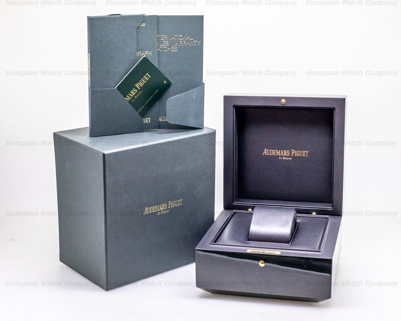 Audemars Piguet 26315OR.OO.1256OR.01 Royal Oak Chronograph 18k Rose Gold 38MM