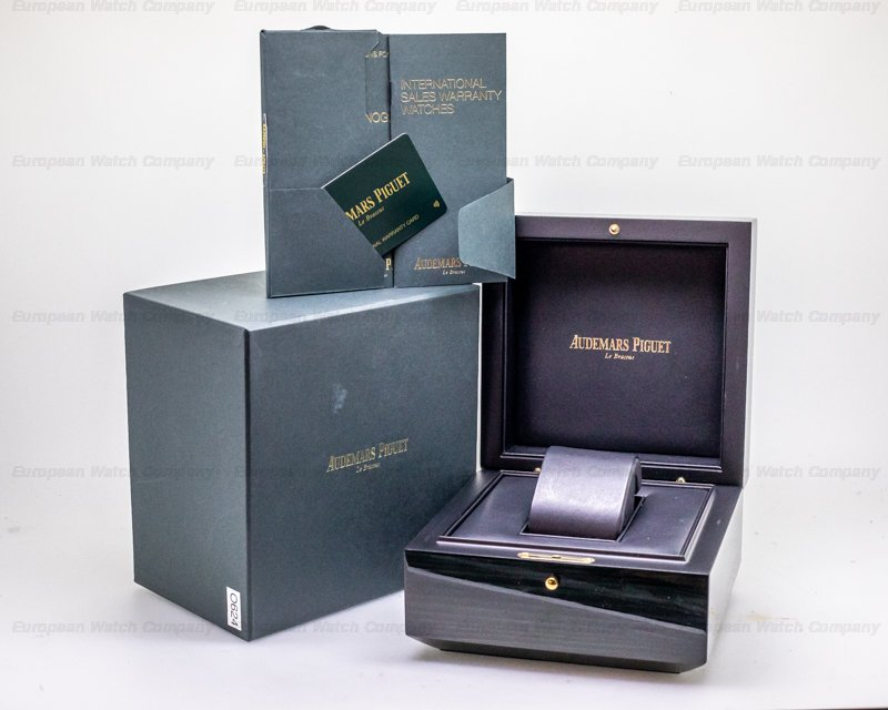 Audemars Piguet 26315ST.OO.1256ST.01 Royal Oak Chronograph 26315ST Silver Dial SS 38MM