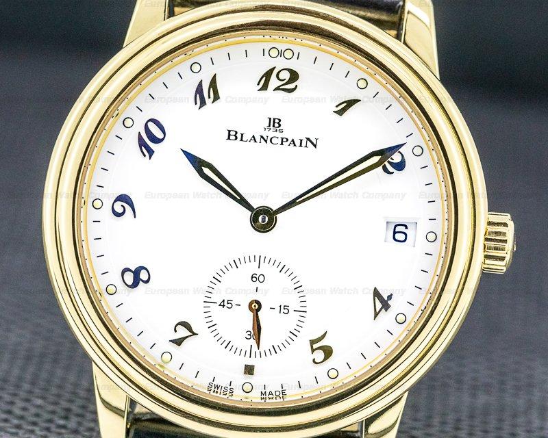 Blancpain 1161-1418-55 Villeret Automatic 18k Yellow Gold