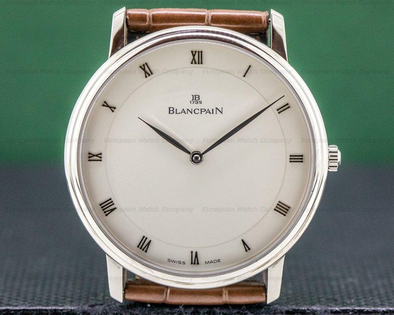 Blancpain 4053-1542-55 Villeret Ultra Slim 18K WG 40MM