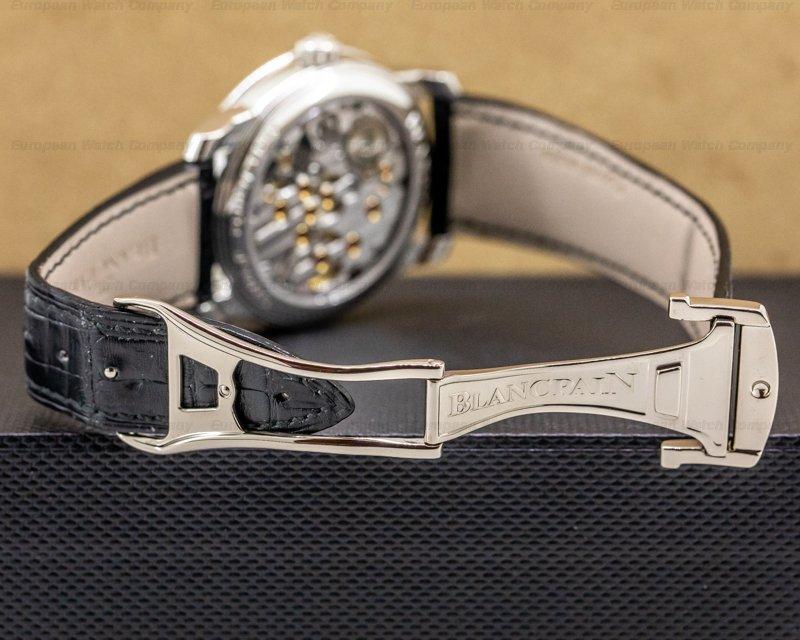 Blancpain 4213-3442-55B Le Brassus 8 Day Platinum Limited