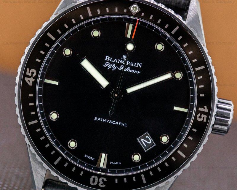 Blancpain 5000-0130-NABA Fifty Fathoms Bathyscaphe
