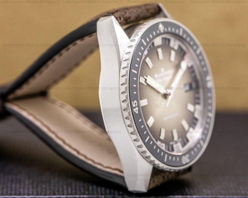 Blancpain 5052-1110-63a Fifty Fathoms Bathyscaphe Day Date 70's LE