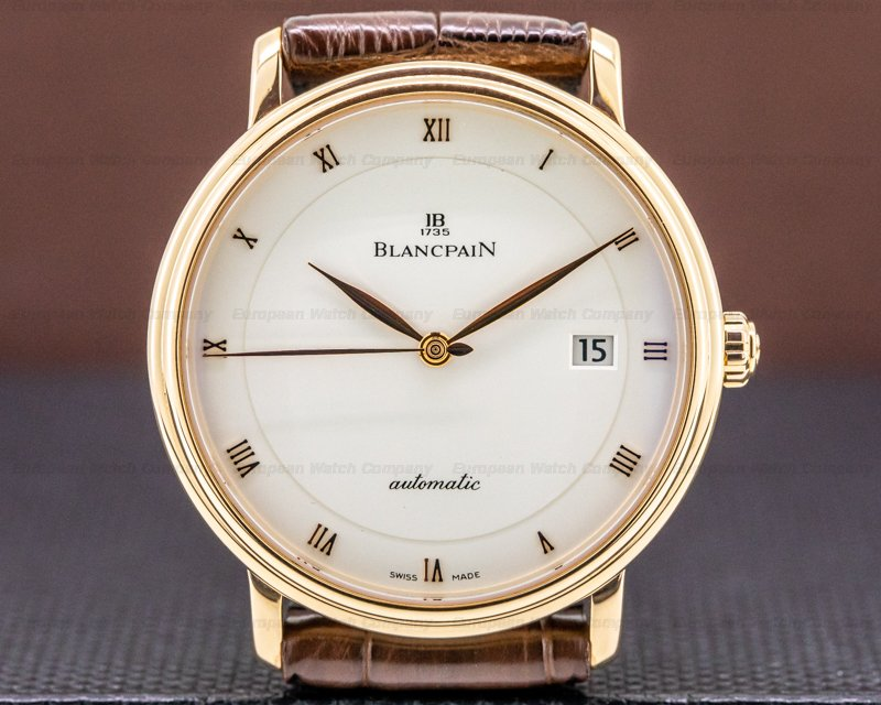 Blancpain 6223-3642-55b Ultra Slim Automaitc 18K Rose Gold