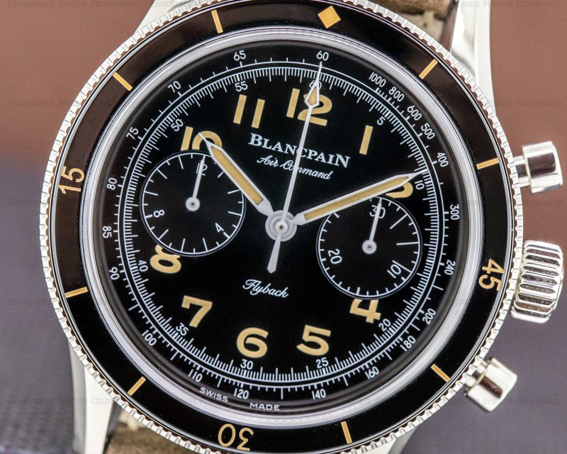 Blancpain AC01 1130 63A Air Command Flyback Chronograph Limited UNWORN