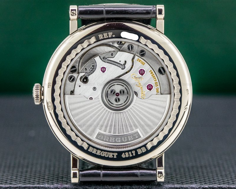 Breguet 5177BB/29/9V6 Classique Automatic Enamel Dial 18K White Gold