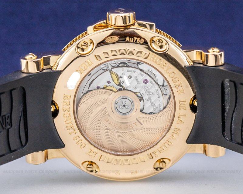 Breguet 5817BR/Z2/5V8 Marine Automatic Big Date 18K Rose Gold / Rubber