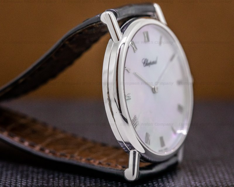 Chopard 163154 Classique 18K WG Mother of Pearl Dial 33.5MM