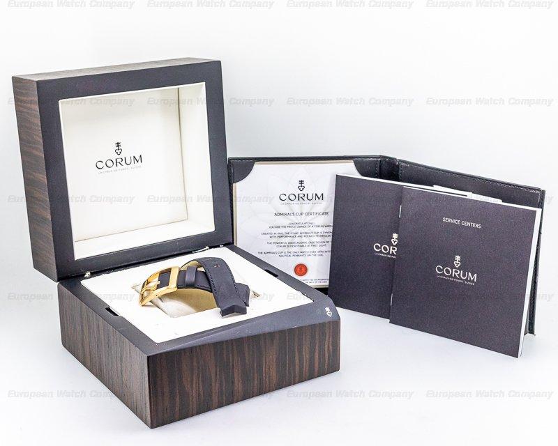 Corum 895-931-06-0371-AA92 Corum Admiral's Cup Foudroyante Split-Second Chronograph Titanium