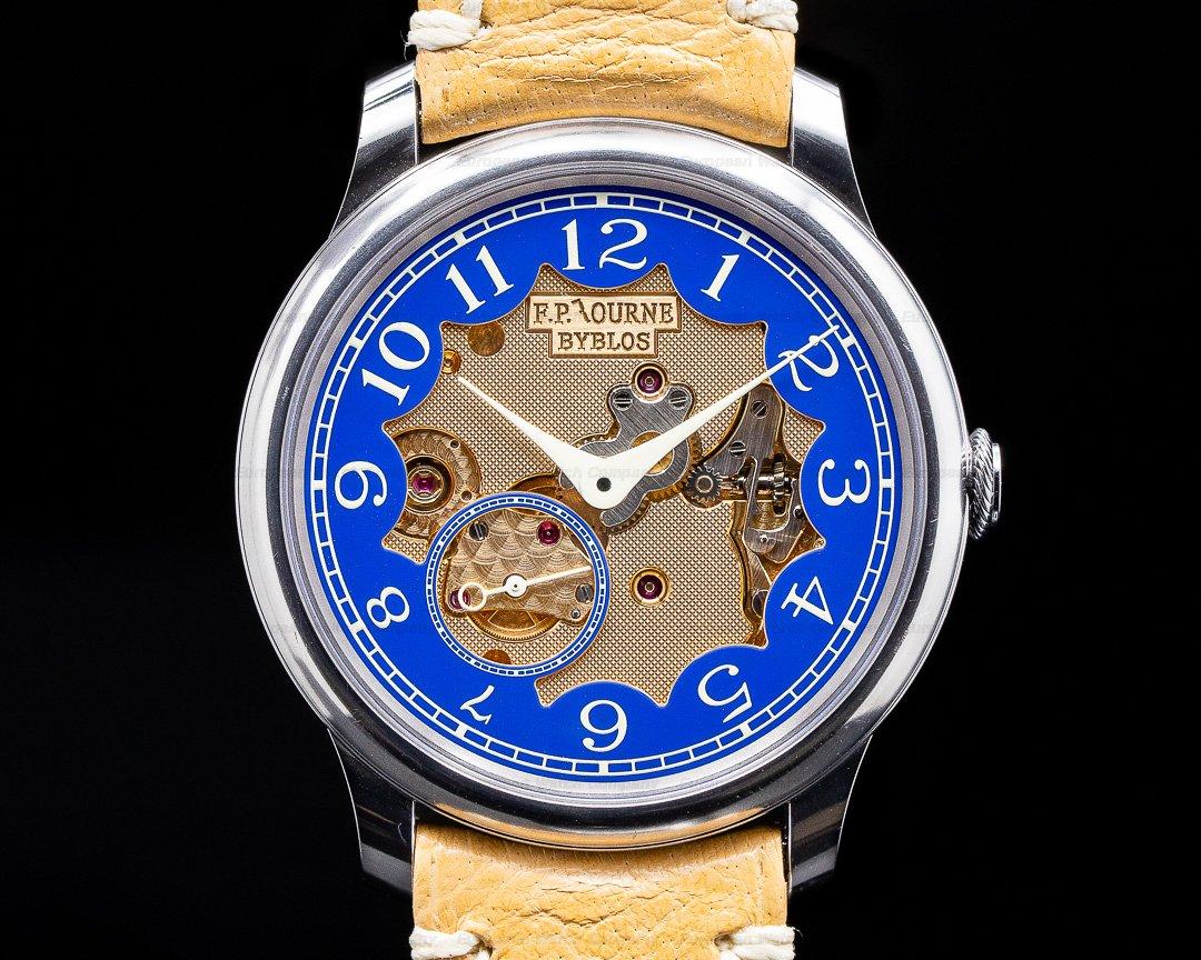 F. P. Journe Chronometre Bleu Byblos Chronometre Bleu BYBLOS Limited Edition RARE