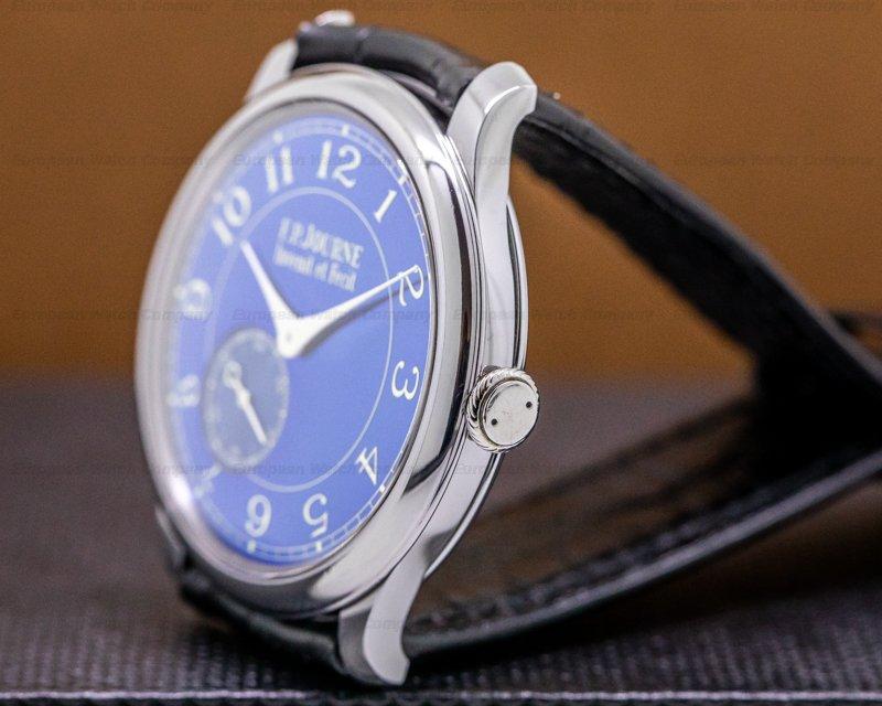 F. P. Journe Chronometre Blue Chronometre Bleu Tantalum Blue Dial